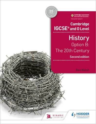 Picture of Cambridge IGCSE and O Level History Option B Workbook 1: 20th Century 2nd ed 9781510421189