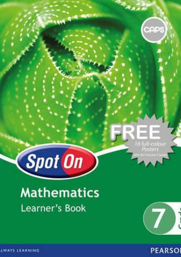 Picture of Spot on Maths G7 LB CAPS 9780796236456