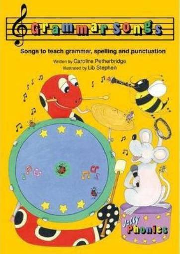 Picture of Jolly Grammar Songs 9781844144341