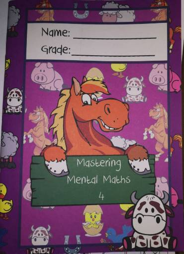 Picture of Mastering Mental Maths Workbook 4 9781869260590