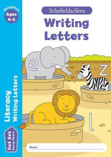 Picture of Get Set Literacy Writing Letters Activity Bk (Early Years) 9780721714431