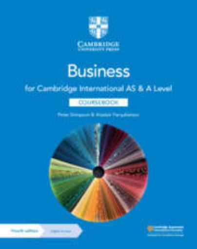 Picture of Cambridge International AS & A Level Business Coursebook with Digital Access (2 Years) 9781108921220
