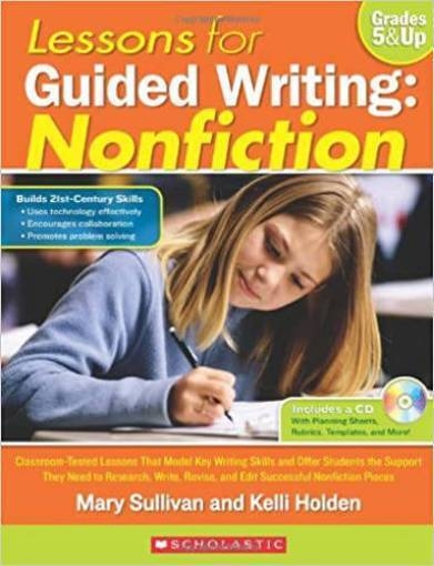 Picture of Lessons for Guided Writing: Nonfiction Grades 5&Up 9780545218931